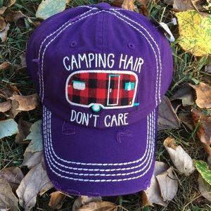 Buffalo Plaid Camper Hat